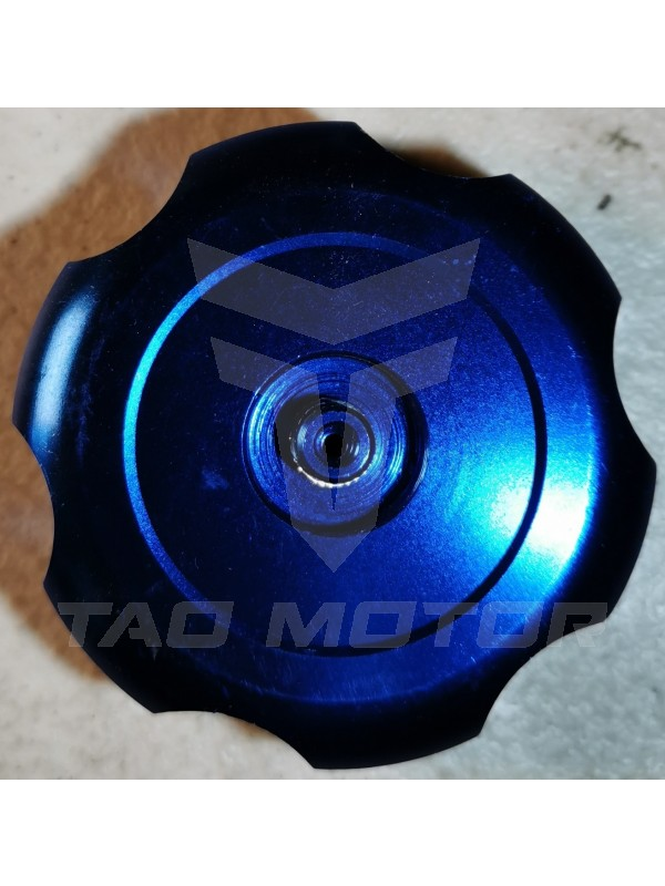Gas Cap ATV/DB-Chrome - Blue