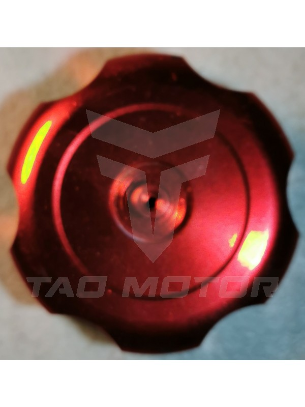 Gas Cap ATV/DB-Chrome - Red