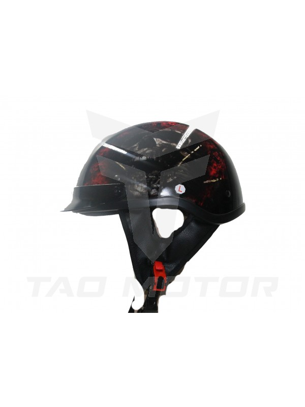 Adult  Half Face Quick release Scooter Helmet DOT Approval HY-808