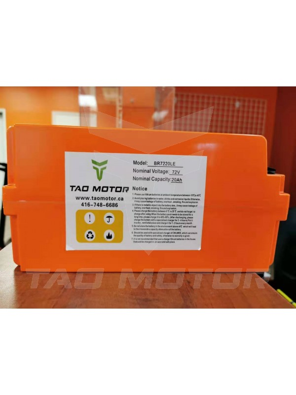 Battery Lithium ion 721/722/723/804 72V  20A