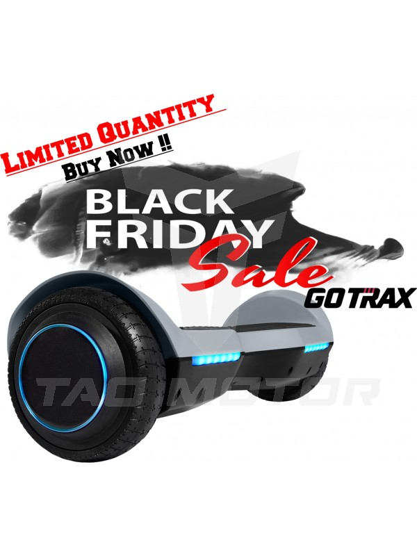GOTRAX SRX Bluetooth Hoverboard - UL2272 Self Balancing Hover Board w/Speakers-Grey !!