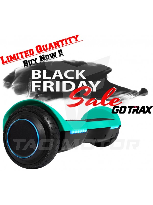 GOTRAX SRX Bluetooth Hoverboard - UL2272 Self Balancing Hover Board w/Speakers-Aqua !!