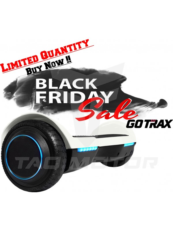 GOTRAX SRX Bluetooth Hoverboard - UL2272 Self Balancing Hover Board w/Speakers-White !!