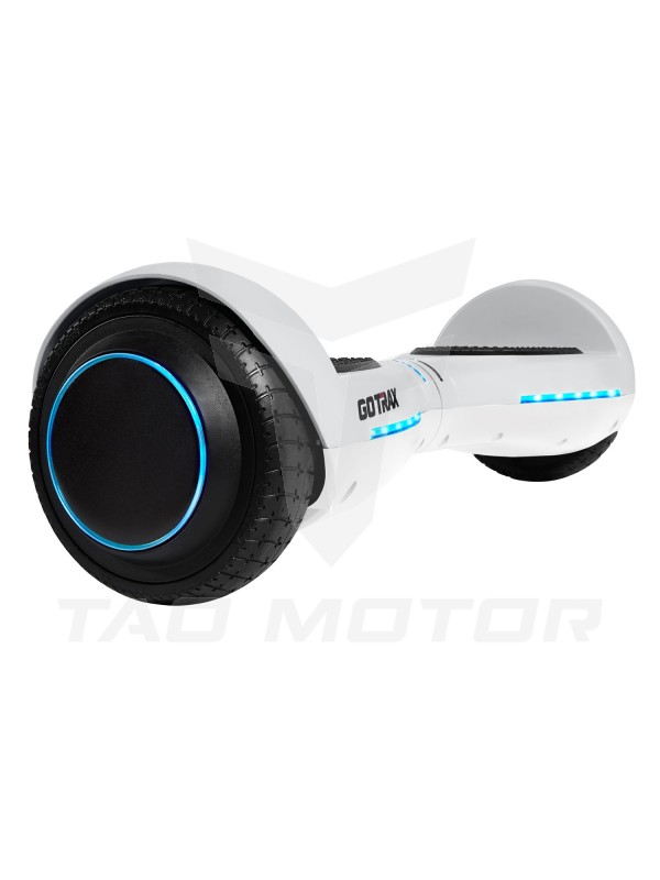 GOTRAX Hoverfly ION LED Hoverboard - UL Certified Hover Board w/Self Balancing Mode -White